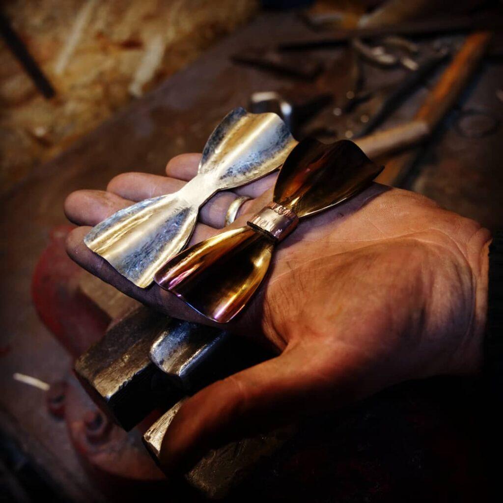 Ručně kované motýlky - umělecký kovář Filip Neupauer
